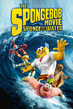 The SpongeBob : Sponge Out of Water