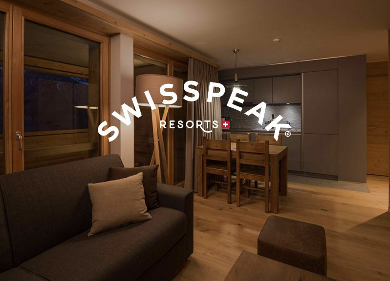 New tourist residence for SWISSPEAK RESORTS