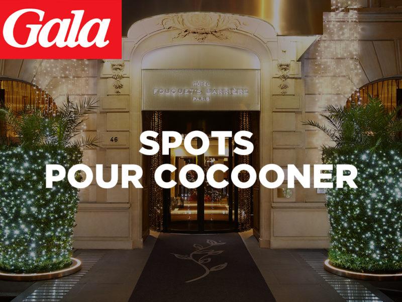 Les spots hôteliers pour cocooner sont dans GALA avec nos clients