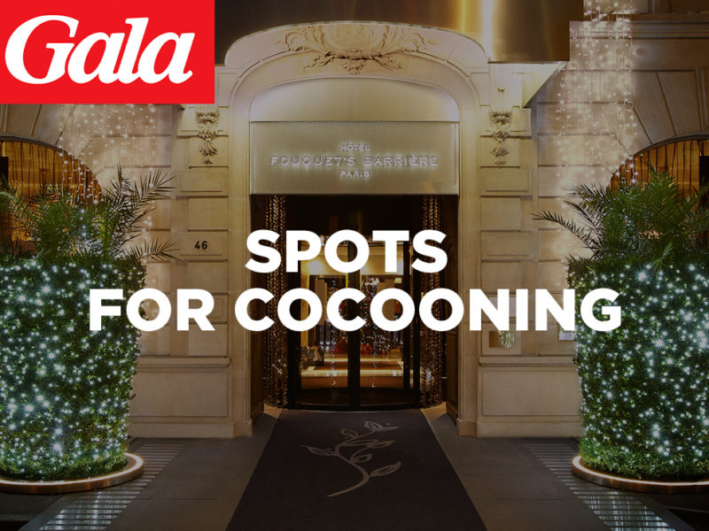 The best places for cocooning are in Gala with our customers