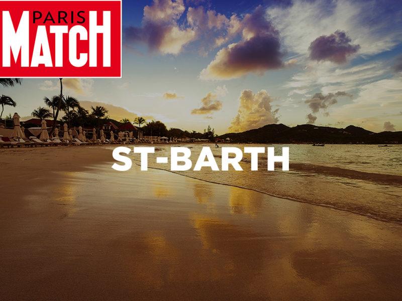 Nos clients hôteliers de Saint Barth sont à l'honneur dans PARIS MATCH