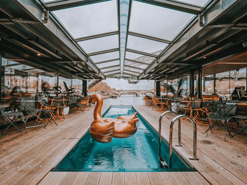 TEVEO sur le premier hôtel flottant à Paris : OFF Paris Seine